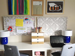 Family office Eclectic style offices & stores by Karolina Barnes Studio Eclectic