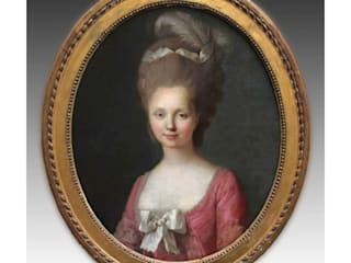 Retrato de Dama:  de estilo  de Entredós Antigüedades