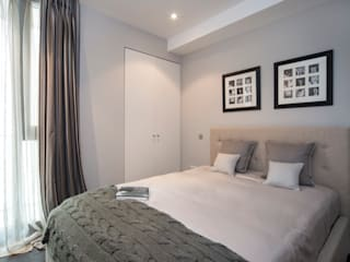 THE KNIGHTSBRIDGE APARTMENTS STUDIO[01] LTD Modern Yatak Odası
