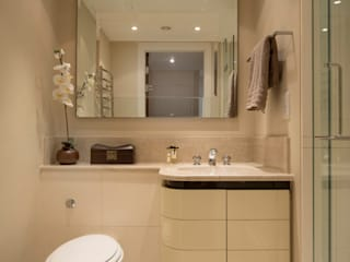 THE KNIGHTSBRIDGE APARTMENTS STUDIO[01] LTD Modern Banyo