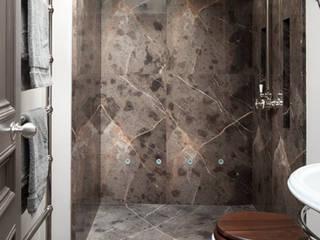 Gilston Road, Mendip shower room:  Bathroom by Britannicus Stone