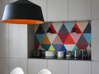 Cuisine et salle et manger : Salle à manger de style de style Moderne par Camille Hermand Architectures