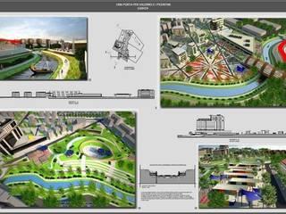 Espaços comerciais por Architetto Libero Professionista