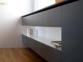 Casas de estilo  por amBau Gestion y Proyectos, Ecléctico
