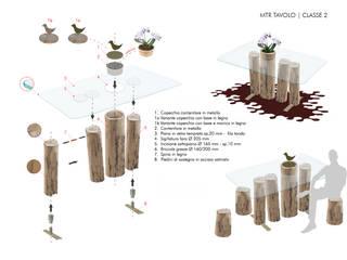 Concorso Tra le Briccole di Venezia | MTR Tavolo:  in stile  di Alessandra Gritti Architetto