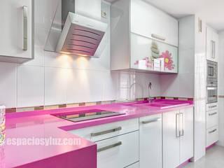 廚房 by Espacios y Luz Fotografía, 隨意取材風