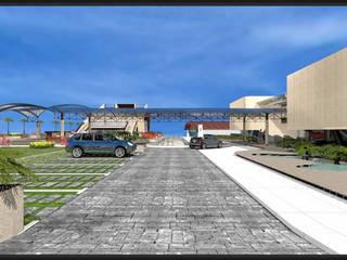 Acceso vehicular: Palacios de congresos de estilo  de CADOT
