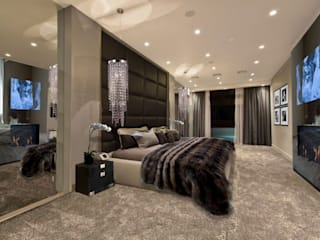 BEDROOMS Modern style bedroom by The Interior Design Studio Modern