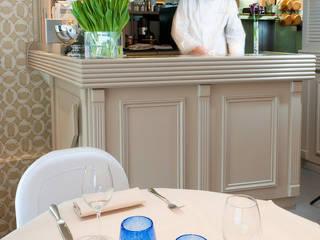 Restaurant gastronomique par Interieurs Autrement