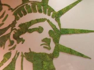 Murs végétaux stabilisés:  de style  par WallUP