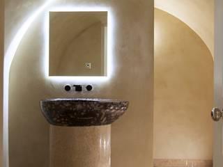 Brooke Street, Frosterley basin:  Bathroom by Britannicus Stone