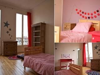 Chambre fille appartement haussmannien Chambre d'enfant moderne par PATRICIA FRANCOIS Moderne