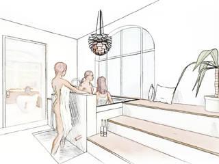 Moderne spa's van baqua - Manufaktur für Bäder Modern