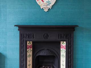Eclectic living room Ruang Keluarga Gaya Eklektik Oleh Designs for Living by Claire Beckhaus Eklektik