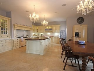 South Yorkshire Home Automation Country style kitchen by Inspire Audio Visual Country