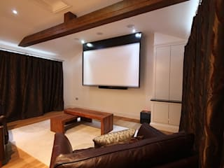 Media room by Inspire Audio Visual