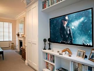 London Media and Home Automation Project Inspire Audio Visual Living roomTV stands & cabinets