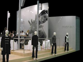 stand 1: Spazi commerciali in stile  di CHRISTIAN THEILL DESIGN