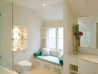 Belsize Park Hélène Dabrowski Interiors Modern style bathrooms