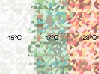 Mr perswall - Temperature Wallpaper Collection di Form Us With Love Minimalista