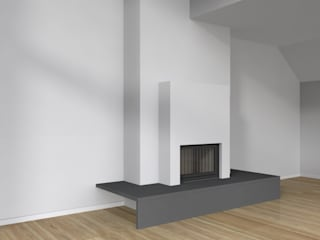 fireplace 3 CHRISTIAN THEILL DESIGN Living roomFireplaces & accessories