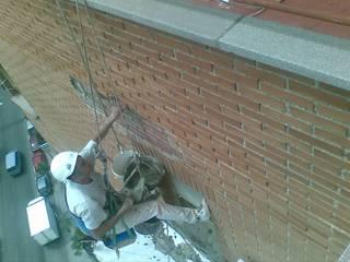 RECONSTRUCCION DE FACHADA de VERTICAL MADRID