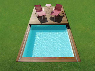 Modern Pool by Piscinelle Modern