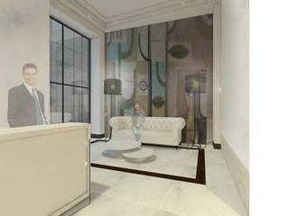 Proyecto interiorismo portal:  de estilo  de Lumasa Proyectos