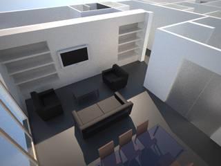 Appartement Villeurbanne: Salle à manger de style  par Agence LVH