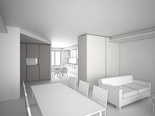 Appartement traversant par Agence LVH Moderne