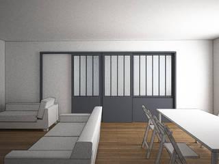 Appartement atelier Salon moderne par Agence LVH Moderne