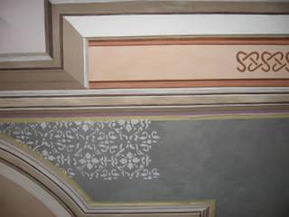 Restitution d'un décor de plafond:  de style  par Agnes PERRONNE