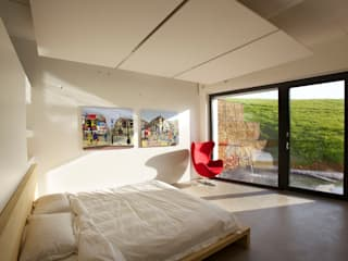 Underhill House PPS7 Modern style bedroom by Seymour-Smith Architects Modern