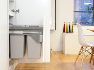 Clerkenwell WC1: Minimal Professional Home Increation Cocinas de estilo clásico