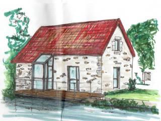 Christèle BRIER Architechniques Eclectic style houses