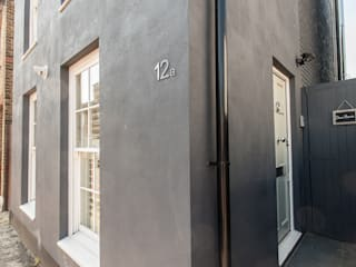 AG123_TwickenhamHome Morgan Harris Architects Ltd Modern houses