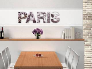 Acrylbuchstaben Paris:  Wände & Boden von K&L Wall Art