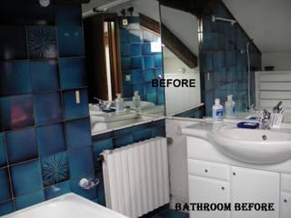 Sala di bagni PRIMA/ DOPO di decoratriceweb.com Interior Design 3D ONLINE