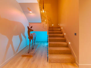 Lakes By Yoo 2 Corridor, hallway & stairs by Future Light Design