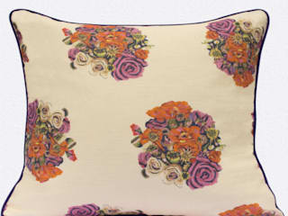 British Bouquet Cushion by Occipinti: classic  by Anthea's Home Store, Classic