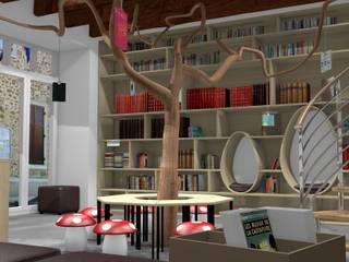 Projet de bibliothèque municipale Ecoles originales par 1001 idées Éclectique