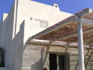casa GM: Case in stile in stile Mediterraneo di 0-co2 architettura sostenibile