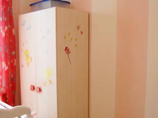 Decorazione murale per la cameretta : Camera da letto in stile  di RIECOLOGIZZO