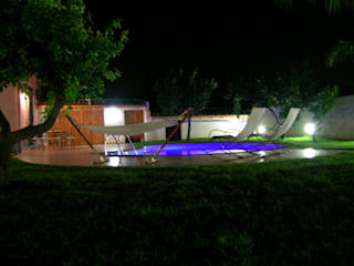Jardines de estilo moderno de PECORAMELLOarchitetti Moderno