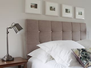The Hepworth Luxury Upholstered Bed de TurnPost Ecléctico