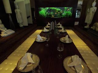 Exotic Thai Restaurant アジア風レストラン の Aquarium Architecture 和風