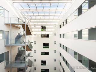 Edificio Autocampo de Luzestudio - Fotografía de arquitectura e interiores