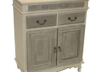 Mueble auxiliar de estilo rústico, romántico, provenzal de Birdikus Rústico