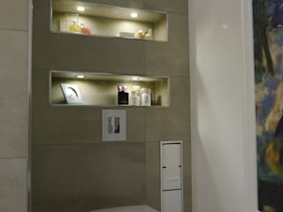 Baños de estilo moderno de Sascha Kregeler Badezimmer & Mehr