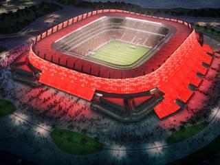 Стадионы в . Автор – Fernandes,